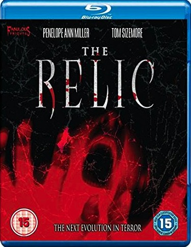 the relic blu ray cover
