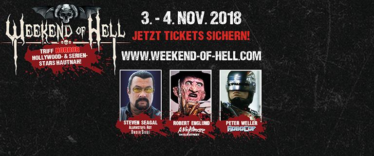 Weekend of Hell – 3 & 4 november 2018