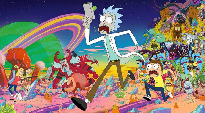 Rick and Morty seizoen 1 t/m 4 boxset